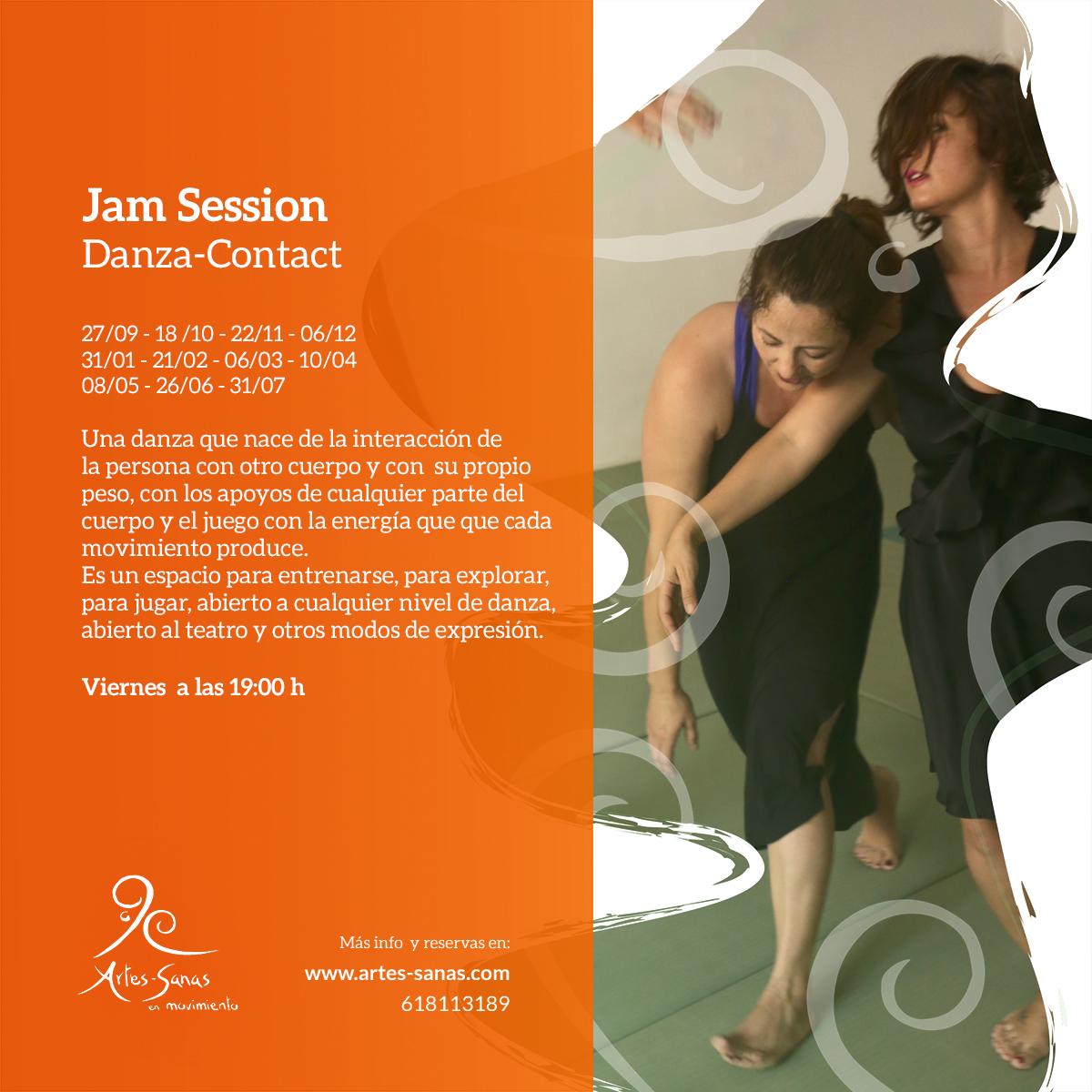 JAm Danza Contact